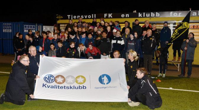 Tjensvoll FK er en NFF Kvalitetsklubb