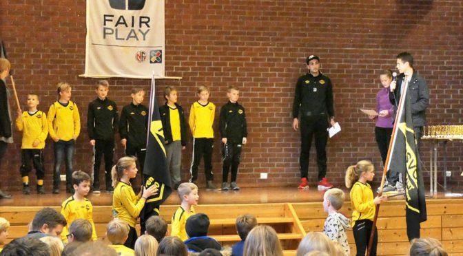 Fotballavslutning på Tjensvoll skole